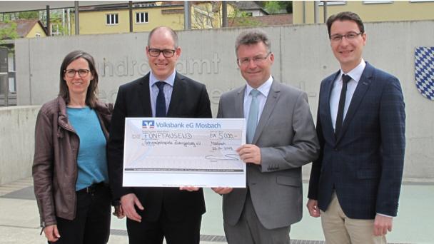 Engagement der Volksbank Mosbach