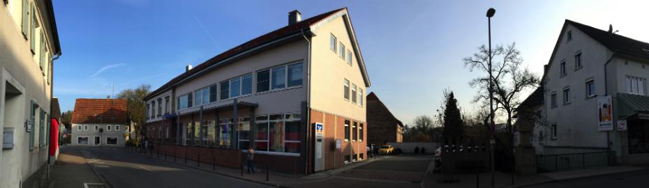 Filiale Aglasterhausen ihrer Volksbank eG Mosbach